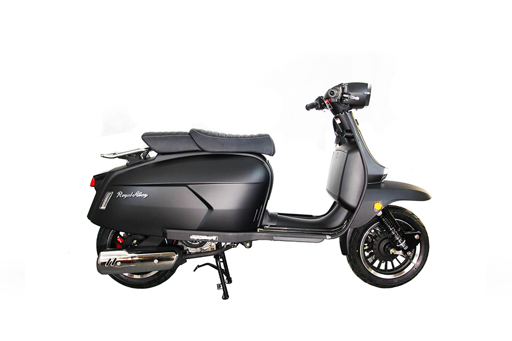 Royal Alloy GP125 Black